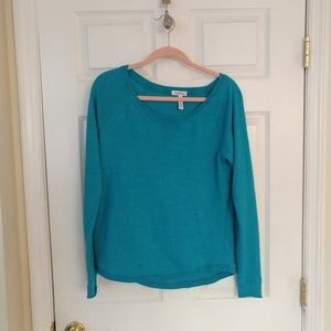 Aeropostale Shirt - Size Medium (Junior) - Teal